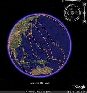 2006サンタの軌跡