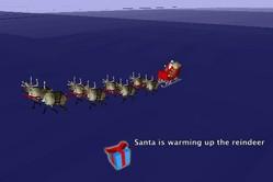サンタ追跡2007
